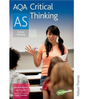 aqa as critical thinking specification Aqa provides qualifications that enable students to progress to the next stage in their lives we also support teachers to develop their professional skills.