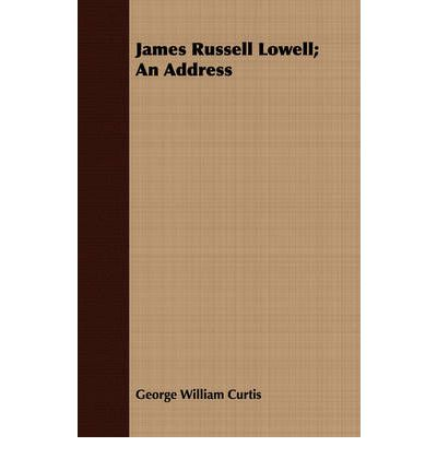 james russell lowell journal
