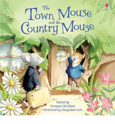 the town mouse and the country mouse susanna davidson 9781409555940. Black Bedroom Furniture Sets. Home Design Ideas