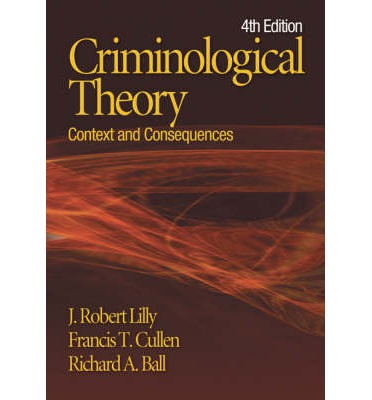 criminology and francis t cullen Sociology (phd) kent state university – university of akron minor overview cullen, francis t, john paul wright, and kristie r blevins (eds) 2008.