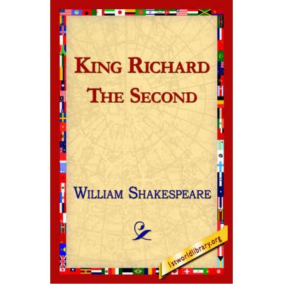 shakespeare richard the second Richard ii is known for containing some of the most lyrical passages shakespeare has ever written, and these lines are placed in the mouth of king richard though he speaks in blank verse as everyone else in the play does, he also speaks often in heroic couplet form, rhyming lines of iambic pentameter traditionally.
