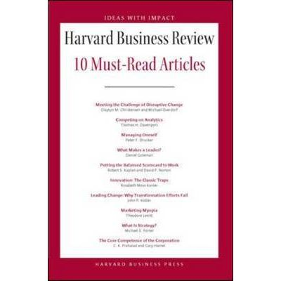 HBR's 10 Must Reads : The Essentials