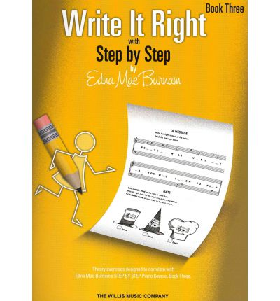 Write It Right with Step by Step, Book Three
