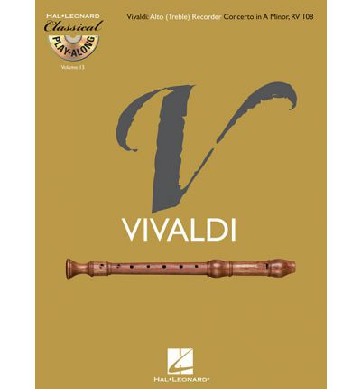 Classical Play Along Volume 13 Antonio Vivaldi