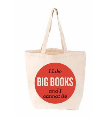 I Like Big Books and I Cannot Lie Tote