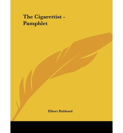 The Cigarettist - Pamphlet
