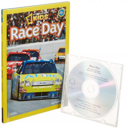 Race Day (1 Hardcover/1 CD)