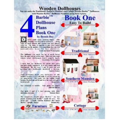 barbie dollhouse plans book 1 dennis day 9781435713444