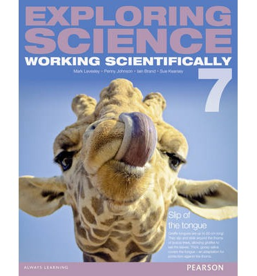Exploring Science: Working Scientifically: Student Book Year 7