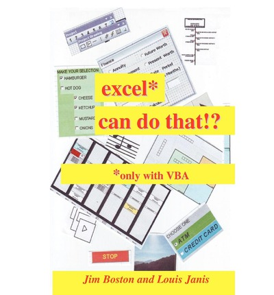 Excel* Can Do That!? : *Only with VBA