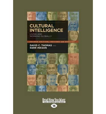 Cultural Intelligence (1 Volume Set)