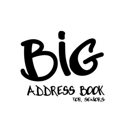 Big Address Book for Seniors