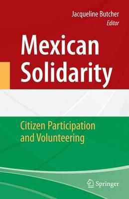 Mexican Solidarity : Citizen Participation and Volunteering