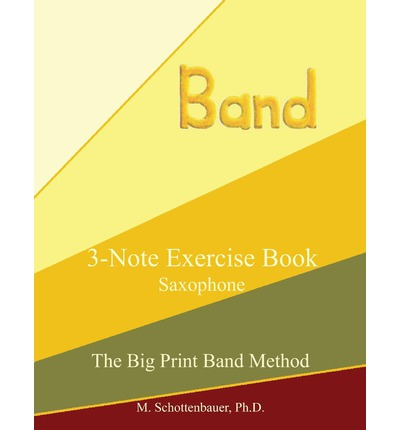 3-Note Exercise Book : Saxophone