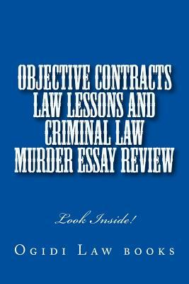 murder criminal law essay Murder essay 8 august 2016 criminal law in this essay i will be criticising the law on murder including voluntary manslaughter and suggesting how it can be.