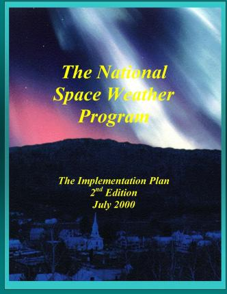 National Space Weather Program Implementation Plan (Black and White)