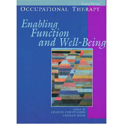 Occupational theory and well being