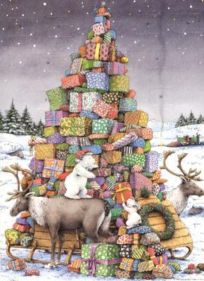Delivery Time!: Advent Calendar
