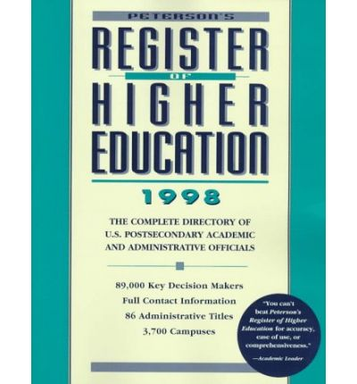 Register of Higher Education 1998