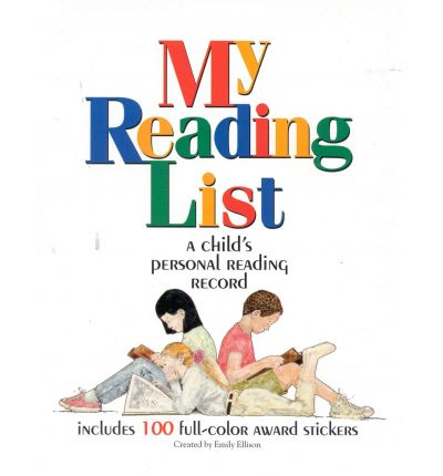 My Reading List : A Child's Personal Reading Record