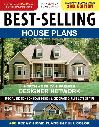 best selling house plans creative homeowner 9781580117616