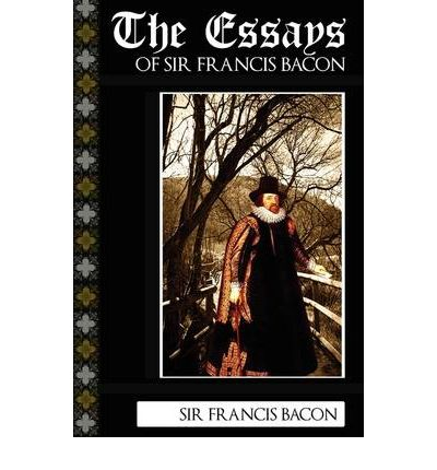 sir francis bacon selected essays of studies by francis bacon -- the theme and style of the essay of studies is the first essay of the first collection of ten essays of francis bacon which was published in 1597 but it was revised for the edition of 1612.