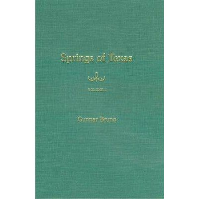 Springs of Texas: v. 1