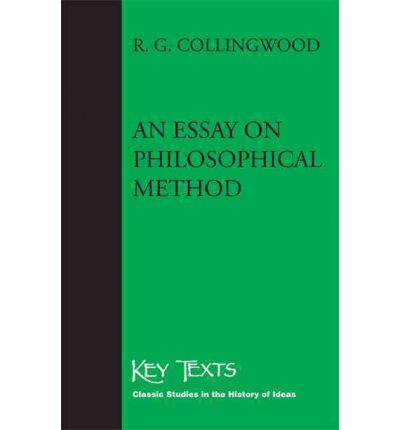 essay on metaphysics collingwood Collingwood and the metaphysics of an autobiography(aa), and an essay on metaphysics it is argued that collingwood's metaphysics of experience is.