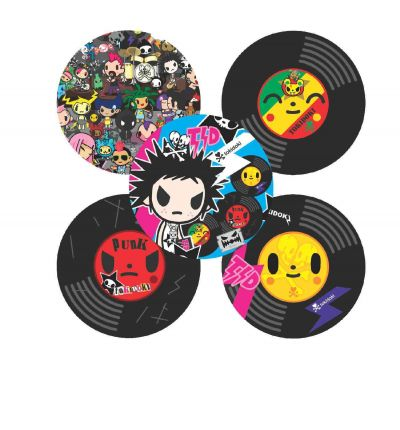 Tokidoki Coaster Set