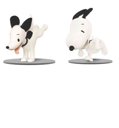Peanuts Then and Now Figures 2-pack: Snoopy