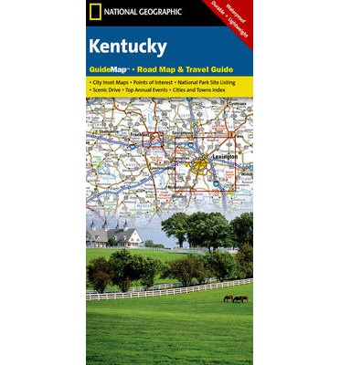 Kentucky national geographic maps 9781597751599