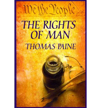 thomas paine rights of a man Buy the rights of man (dover thrift editions) by thomas paine (isbn:  8601400599372) from amazon's book store everyday low prices and free  delivery on.