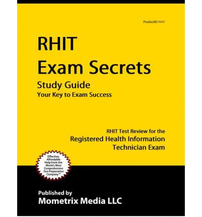 Study guides for rhit exam