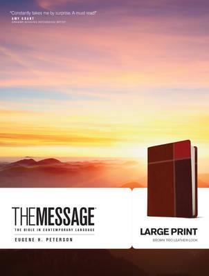 Message-MS-Large Print Numbered : The Bible in Contemporary Language