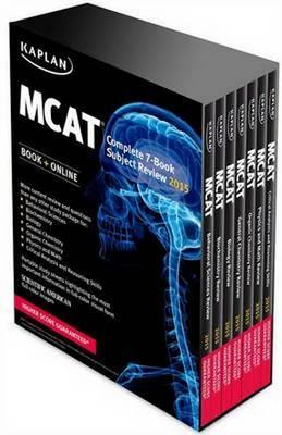 Kaplan MCAT Review Complete 7-book Set 2015 : Kaplan : 9781618656445