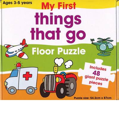 Ebook per il download gratuito Things That Go Floor Puzzle by - 9781743001813 (Italian Edition) PDF