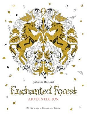 Enchanted Forest Artists Edition A Pull Out And Frame