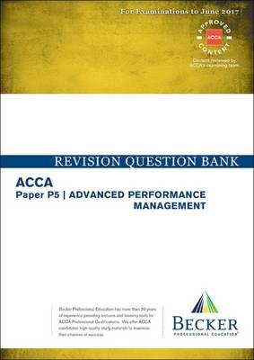 Acca P5 Advanced Performance Management Kaplan Revision Kit 2015-2016