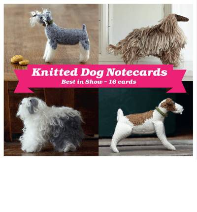 Best in Show Knitted Dog Boxed Notecards