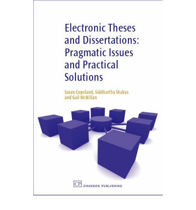 electronic dissertations and theses Theses and dissertations starting with the 2001 incoming class, the university of florida requires its graduate students to submit their masters theses and doctoral dissertations in.