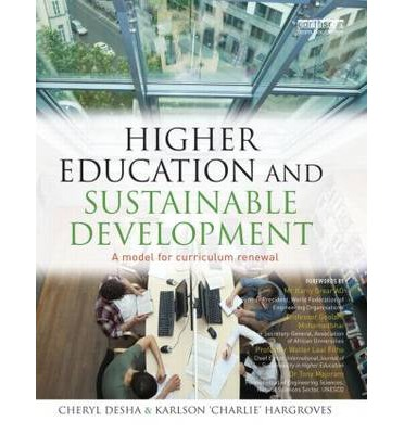 sustainable development in higher education A review of commitment and implementation of sustainable development in  higher education: results from a worldwide survey article in.
