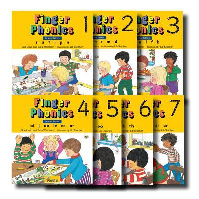 Finger Phonics, Books 1-7