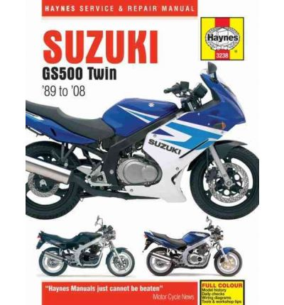 Suzuki GS500 Twin Service and Repair Manual