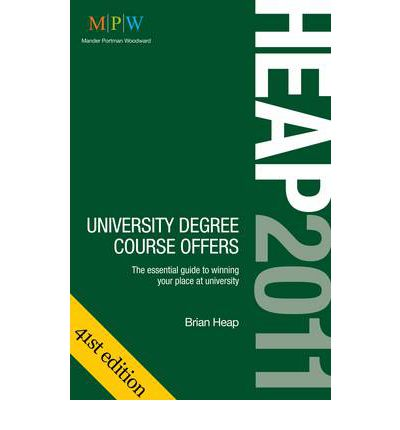 Heap 2011 University Degree Course Offers