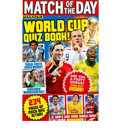 """Match of the Day"" World Cup Quiz Book"