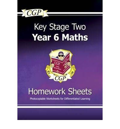 """Book in pdf format to download for free KS2 Maths Homework Sheets - Year 6 by CGP Books,CGP Books""""  in Norwegian PDF CHM 9781847621894"""