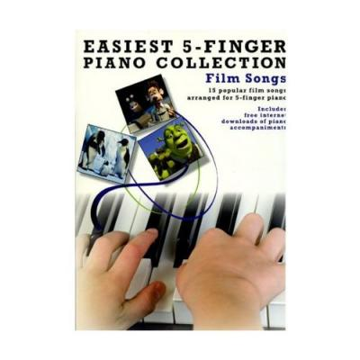 Easiest 5-Finger Piano Collection : Film Songs