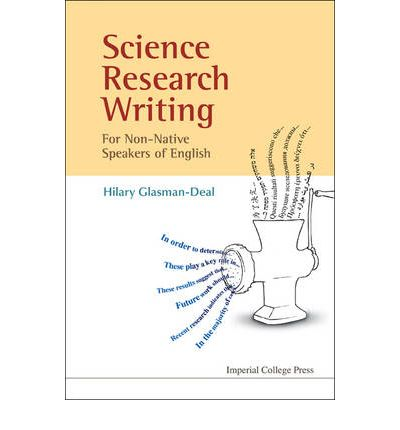 science research writing a guide for non-native speakers of english free download