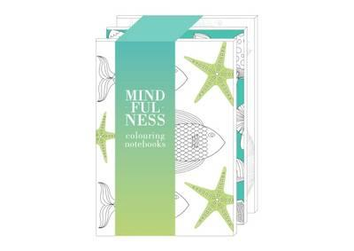 Mindfulness: Colouring Notebooks (Earth, Air & Water)