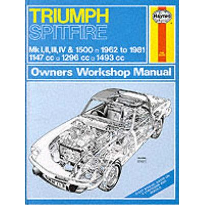Triumph Spitfire Mk.1, 2, 3, 4 & 1500 1962-81 Owner's Workshop Manual